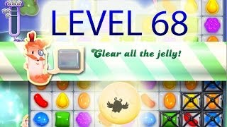 Candy Crush Owl Dreamworld Level 68 - 3 stars
