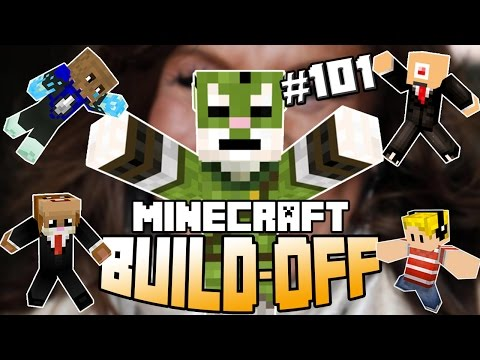 Minecraft Build Off #101 - PATTY BRARD!