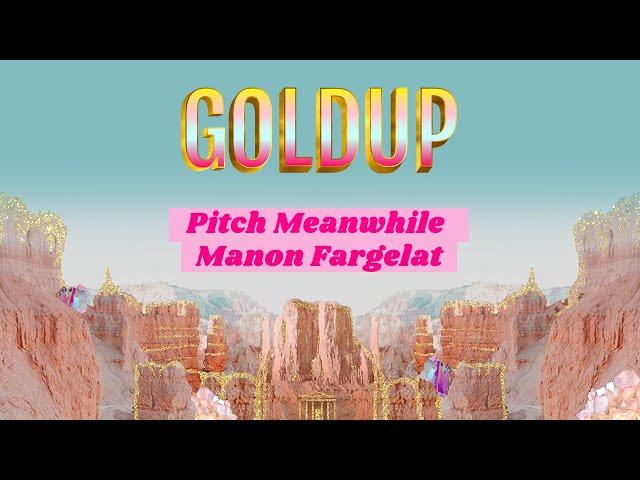 Goldup - Pitch de la startup Meanwhile par sa fondatrice  Manon Fargelat