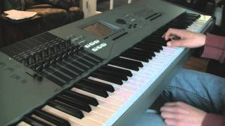 Man On The Corner -Phil Collins Keyboard Cover (Motif xs8)