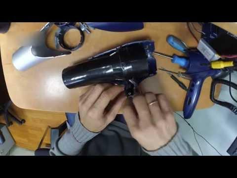 Как разобрать фен philips salon pro 4892