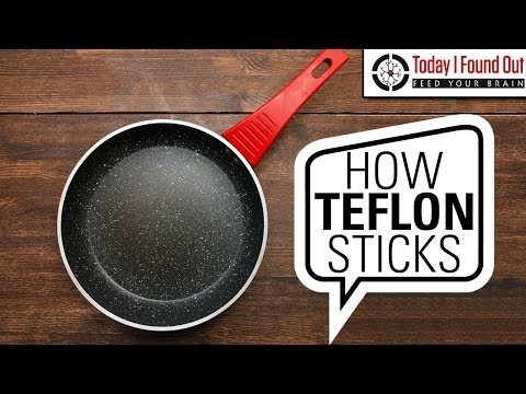 How Do They Get Teflon to Stick to Pans?