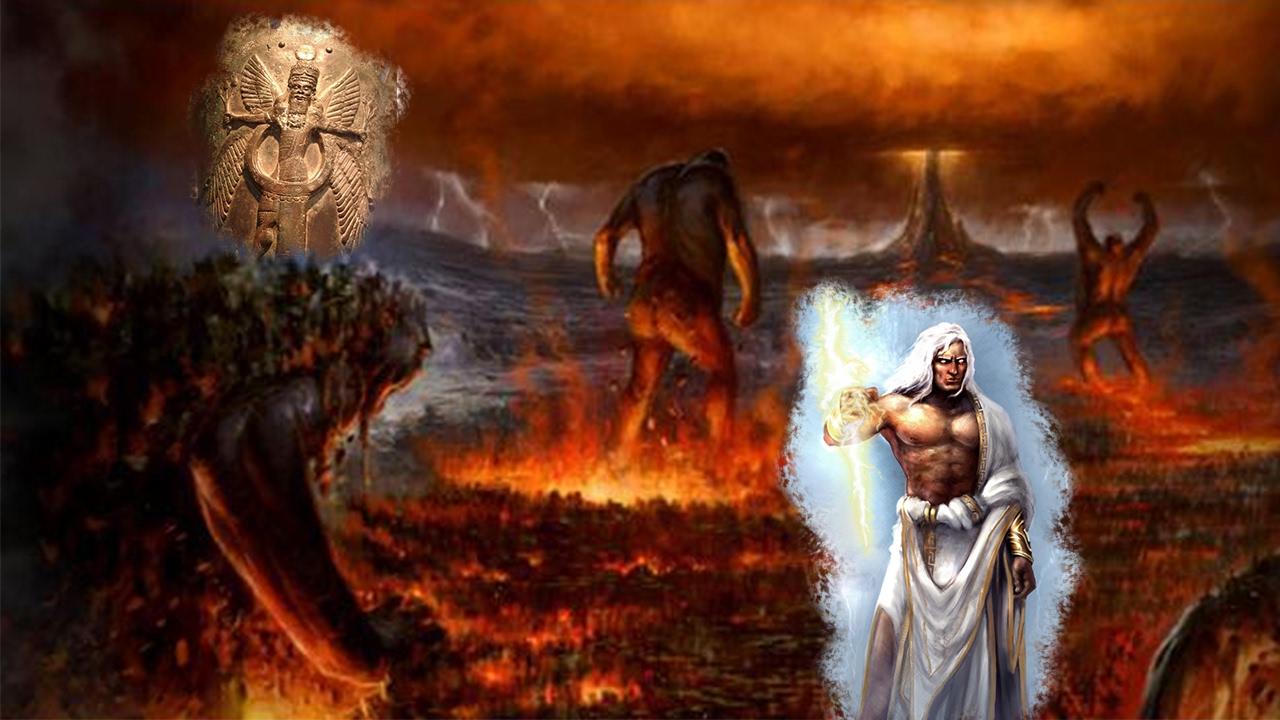 Como Zeus Jehov 225 Llego Hacer El Rey La Titanomaquia