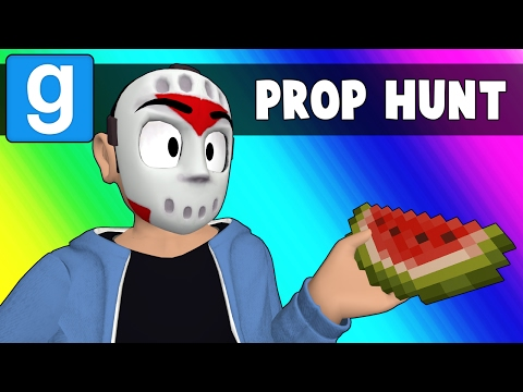 Thumbnail: Gmod Prop Hunt Funny Moments - Rude Minecraft Snowman (Garry's Mod)