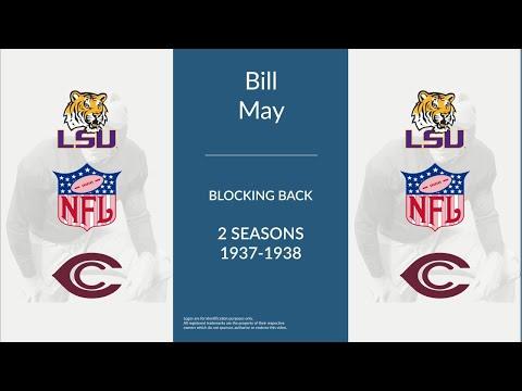 Bill May: Football Blocking Back