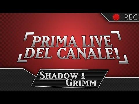PRIMA LIVE DEL CANALE!!! feat. Fandub Italia
