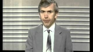 80s and 90s UK TV - News and Weather Excerpts: BBC1 News Headlines with John Humphries