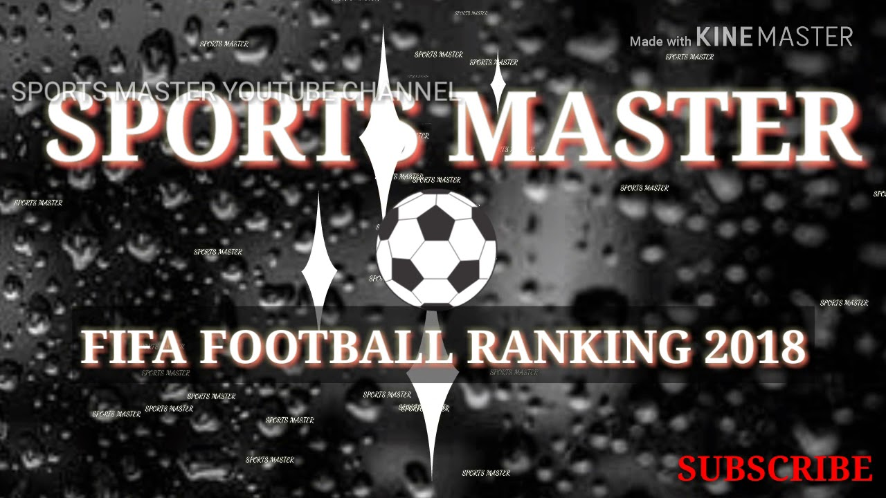 Fifa world ranking 2018/##top 9 men's teams/