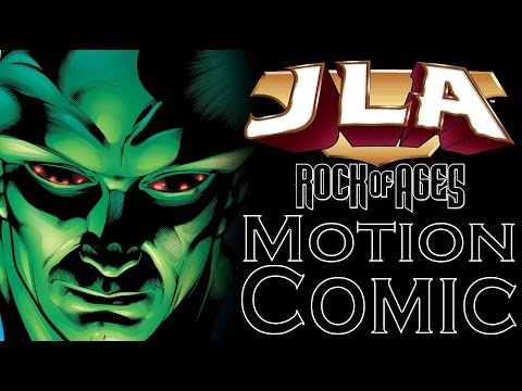 JLA Rock Of Ages Wasteland Motion Comic - Part 1
