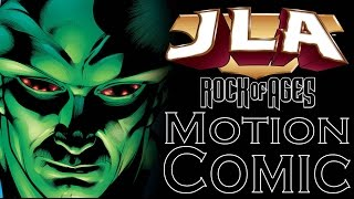 JLA Rock Of Ages Wasteland Motion Comic