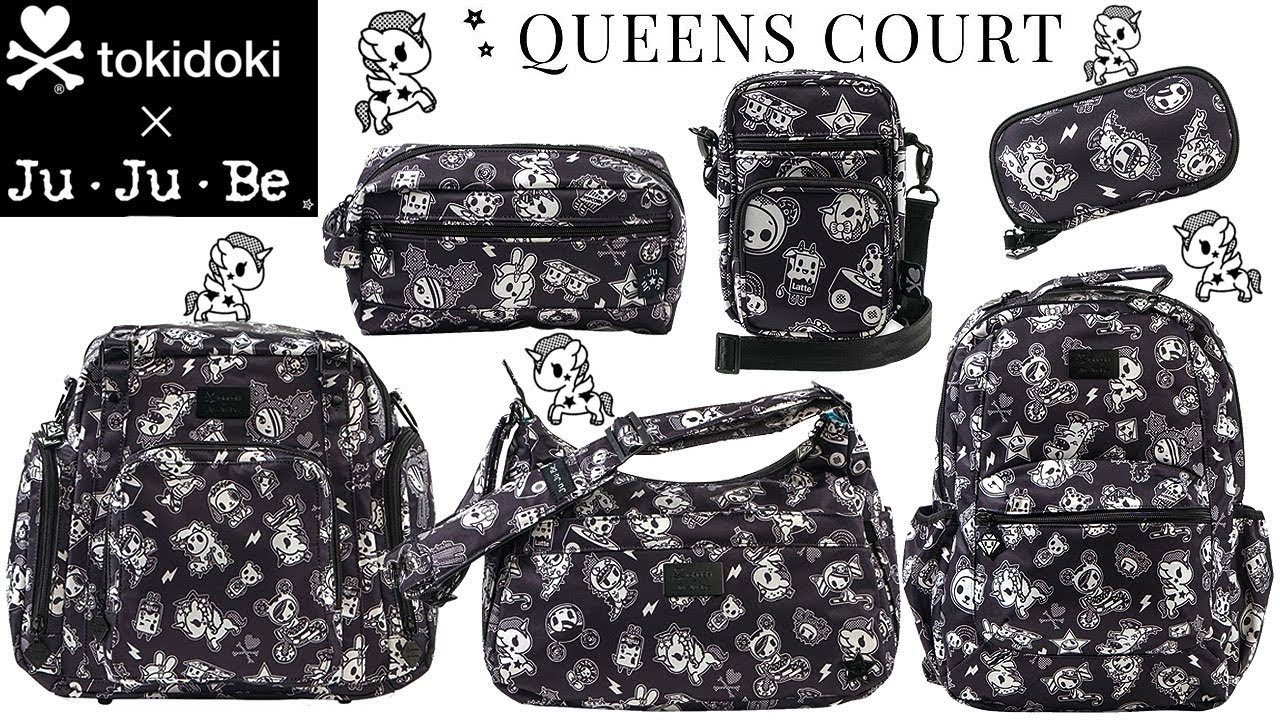 Changing Bags JuJuBe Tokidoki X Queens Court BFF