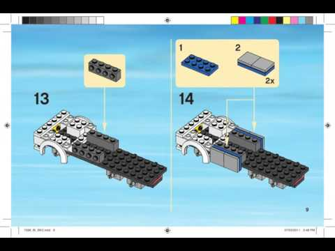 Инструкция по сборке lego мобильное подразделение полиции 7288.