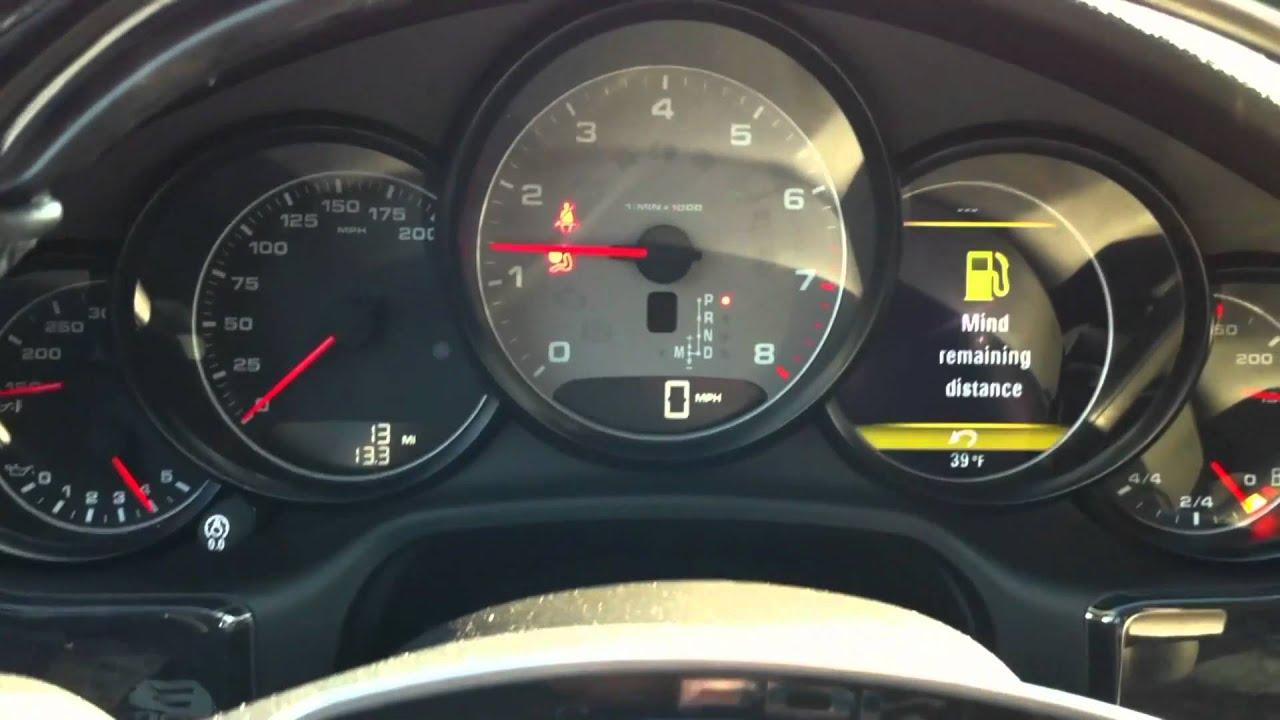 Porsche Panamera 4s Start Up And Interior Youtube