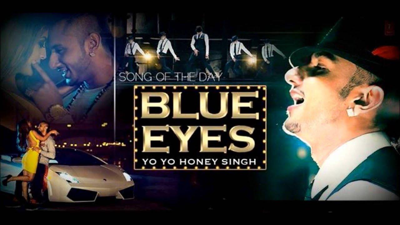 Yo Yo Honey Singh Hairstyle In Blue Eyes Traffic Club