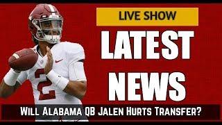 Will Alabama Quarterback Jalen Hurts Transfer?