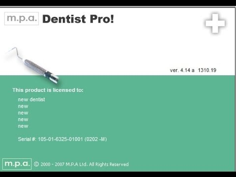 Dentist Pro! How to create a  new patient record.