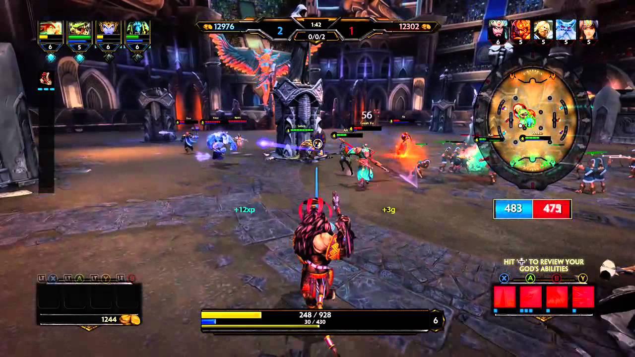 SMITE Battleground Of The Gods Xbox One Gameplay YouTube