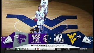 NCAAB 02 03 2018 Kansas State at West Virginia 720p60