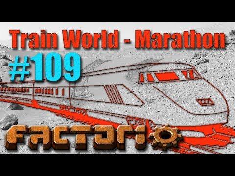 Factorio - Train World Marathon Campaign - 109 - Uranium Mining