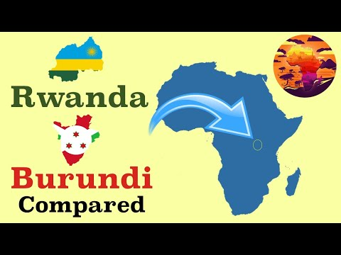 Burundi and Rwanda Compared