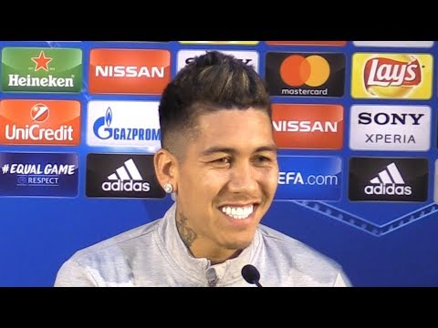 Roberto Firmino Full Pre-Match Press Conference - Porto v Liverpool - Champions League