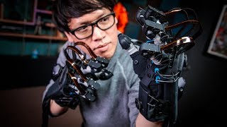 Hands-On with HaptX VR Haptic Gloves!
