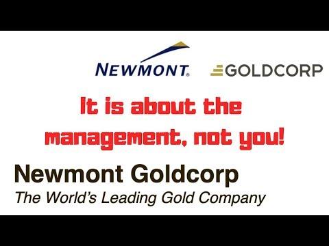 Newmont Goldcorp Stock Merger Analysis - Gold Mining Stocks