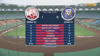 SIMBA SC1-0 AZAM FC, VPL FULL HIGHLIGHTS (07/02/2018)