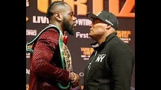 Wilder VS Luis Full Weigh-In Las Vegas (SCJ TV ) Mayweather, Shawn Porter