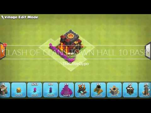 Clash Of Clans Town Hall 10 Defense Base