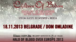 CHILDREN OF BODOM - Halo of Blood Tour Serbia (OFFICIAL PROMO)