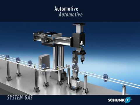SCHUNK GAS Linear Motor Axis