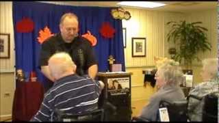 Give Thanks - Thanksgiving Magic Show for Seniors by Earl Long