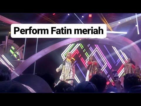 Perform Fatin Shidqia Di Konser ASIAN GAMES 2018