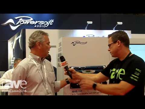 InfoComm 2016: Gary Kayye Interviews Paul Freudenberg of Powersoft Audio