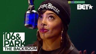Nitty Scott in The Backroom | 106 & Park Backroom