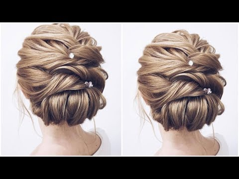 Formal UPDOS for Medium Length Hair | 2019 Prom & Wedding Hairstyles