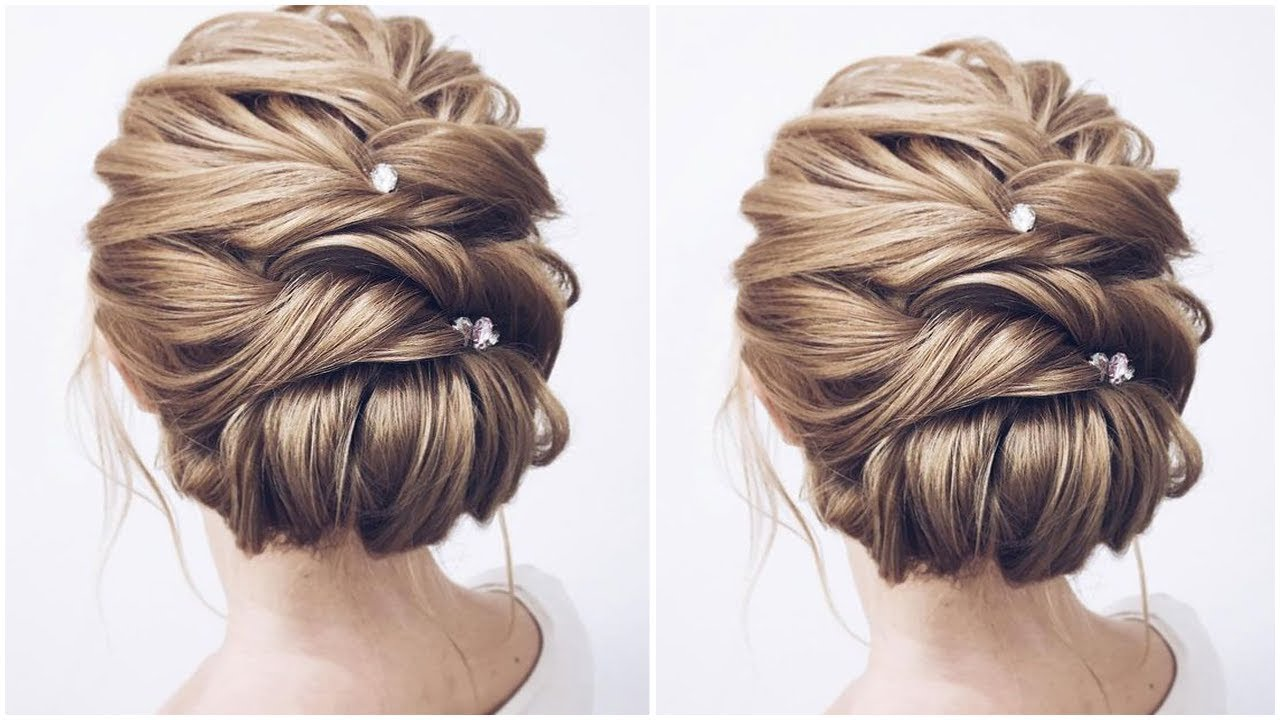 formal updos medium length