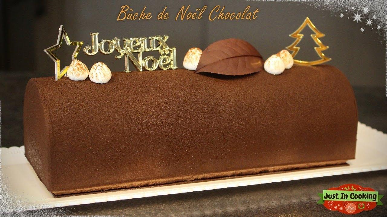 Buche de noel a la mousse aux chocolat