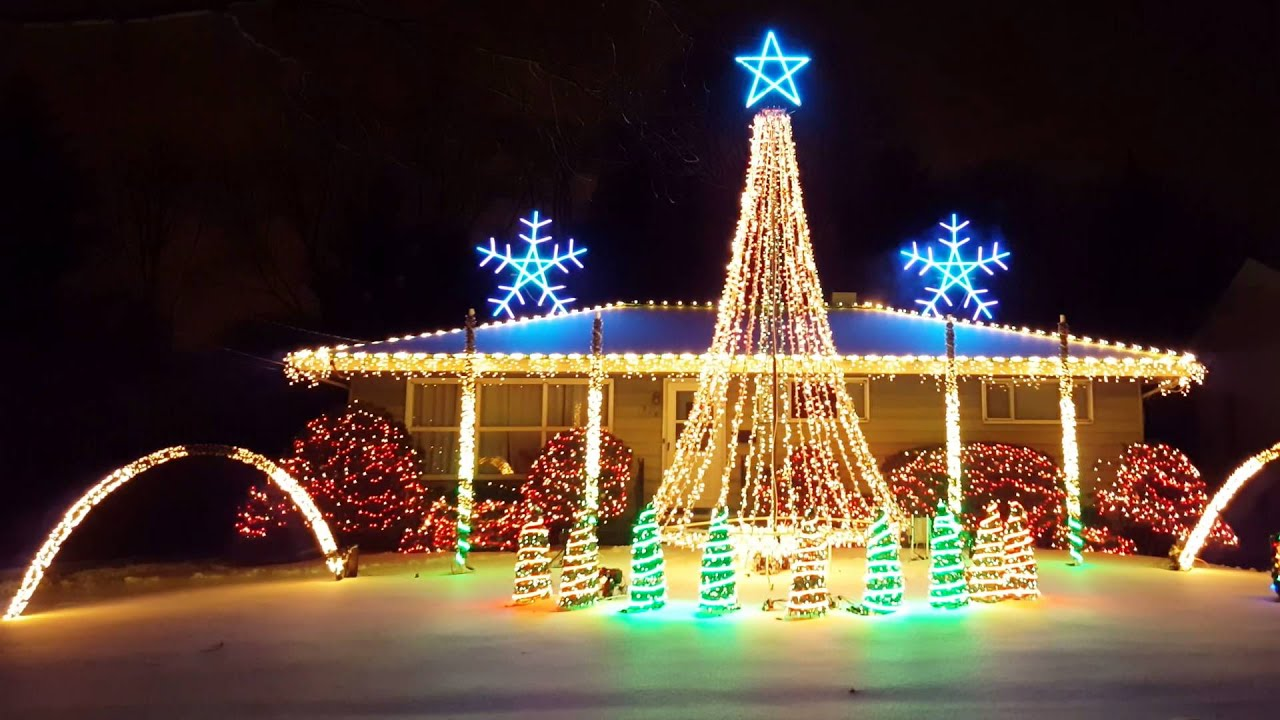 2015 Amazing Christmas Light Show Synced To Frozen  Do You Want To Build A  Snowman U2013 Let It Go Amazing Ideas