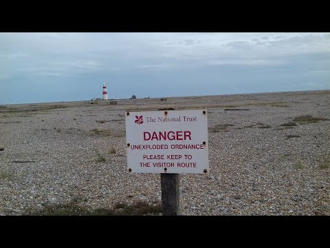 ORFORD NESS WALK AND WILD CAMP