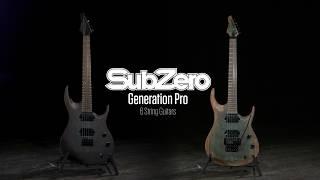 SubZero Generation Pro 6-String Guitars   Gear4music demo