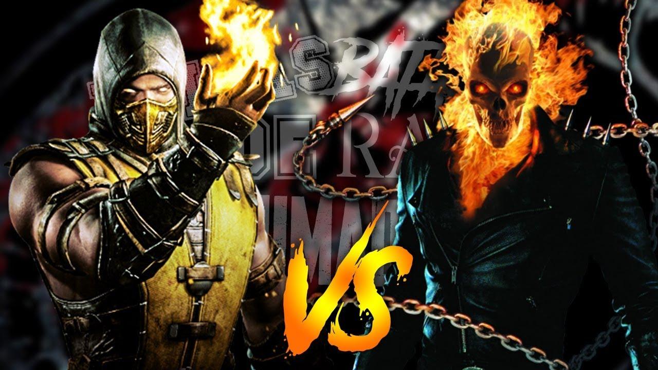 Ghost Rider vs Scorpion - Épicas Batallas de Rap Animadas ...