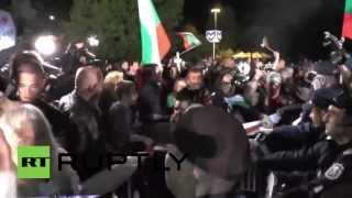 Bulgaria: Clashes break police lines at post-election protest