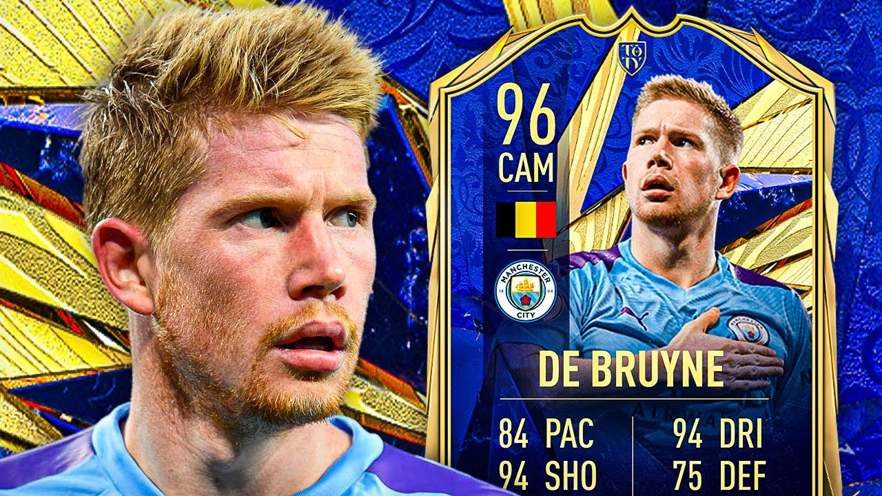 ANOTHER 96?! 😬 96 TOTY KEVIN DE BRUYNE PLAYER REVIEW! - FIFA 21 Ultimate  Team - YouTube