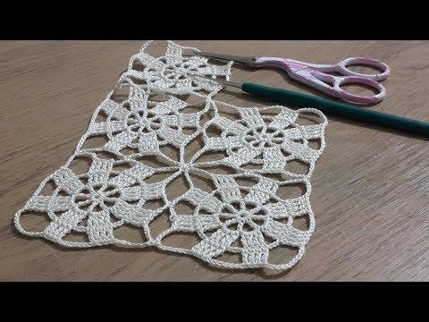 Tığişi Örgü Vitrin Dantel Yapımı, Crochet