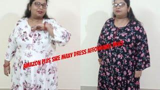 Amazon Plus size Maxy dress honest review