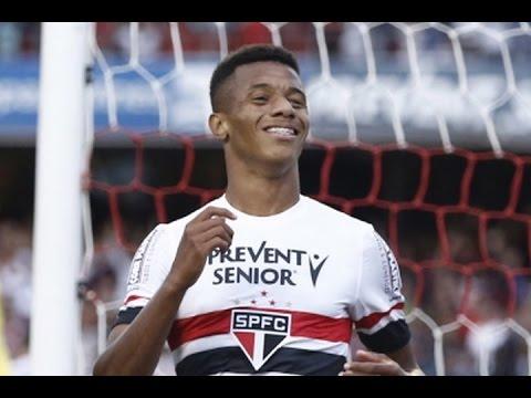 Gol de David Neres, São Paulo 2 x 0 Ponte Preta - Série A 22/10/2016