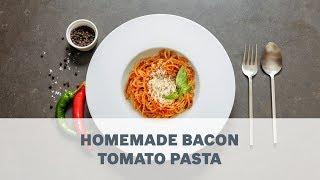 Bosch Maxximum Sensorcontrol Kitchen Machine - Fresh Pasta With Bacon Onion...