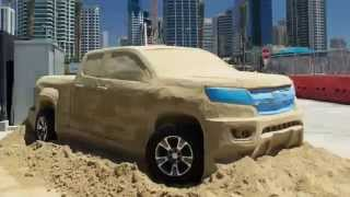 Sand Sculptures Art and Play - 2015 Chevrolet Colorado Video